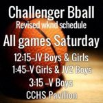 CCHS vs StM Basketball Games Rescheduled