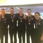 Varsity Boys Bowling Earn First Again