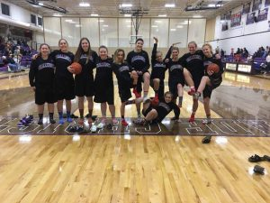 Lady Challenger Basketball Team