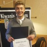 January Kiwanis Student of the Month