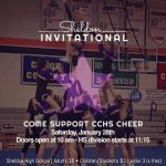 CCHS Cheer Competing Today