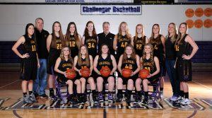 Varsity Girls Basketball Team Photo 2017