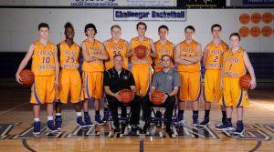JV Boys Basketball Team Photo 2017