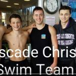 CCHS Swim Team. District 4 Swim Medley Relay 2017