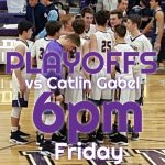Boys Basketball 1st Round State Playoff Game