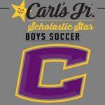 CCHS Boys Soccer OSAA Academic Allstars