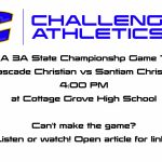OSAA 3A State Championship Football Game