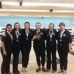 Challenger Girls' Bowling Make History and are Headed to State!