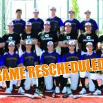 RESCHEDULED: Challengers Host Round 1 Baseball Game