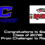 Sarah Johnston, CCHS Class of 2018, to throw for SOU Raiders