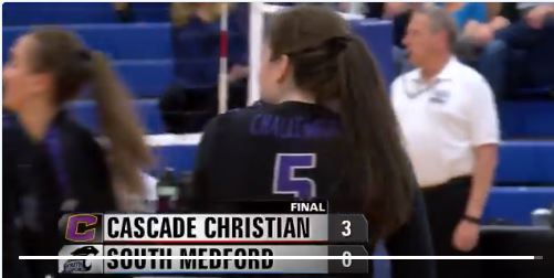 2-time Challenger Volleyball Champs knock off South Medford
