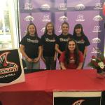 Caroline McMahon Signing Day- 11/14/2018