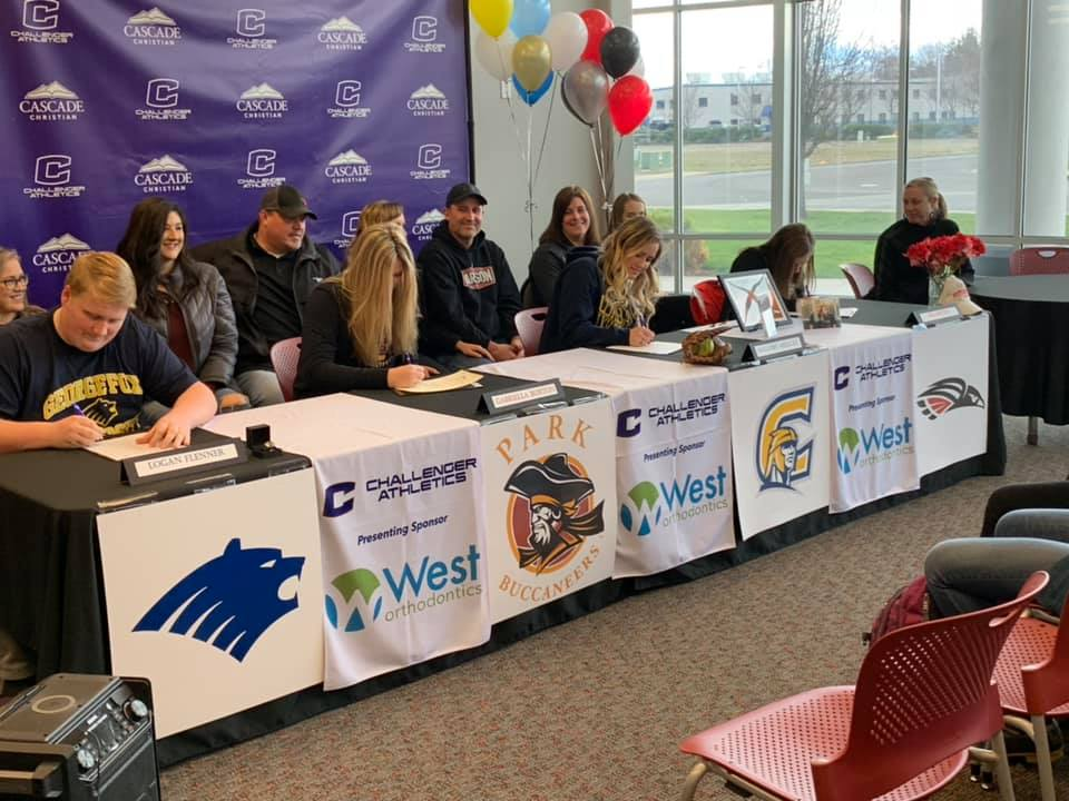Four Sign Letters Of Intent To Play College Ball