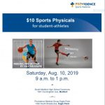 Planning To Play Next Season? Get Your Physical For $10