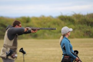 Scenes From State Trap Shooting Meet