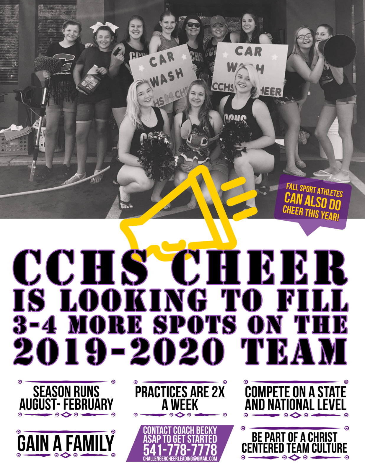 Challenger Cheer: There's Room For More