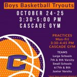 Middle School Boys- Sign Up For Hoops