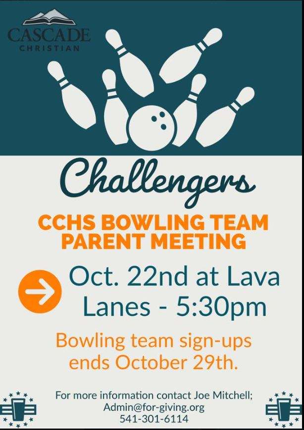 Parent Meeting Coming Up For Students Interested In Bowling Team