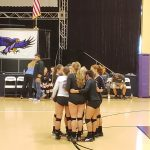 Volleyball: Hawks Edge Challengers In Playoff Opener