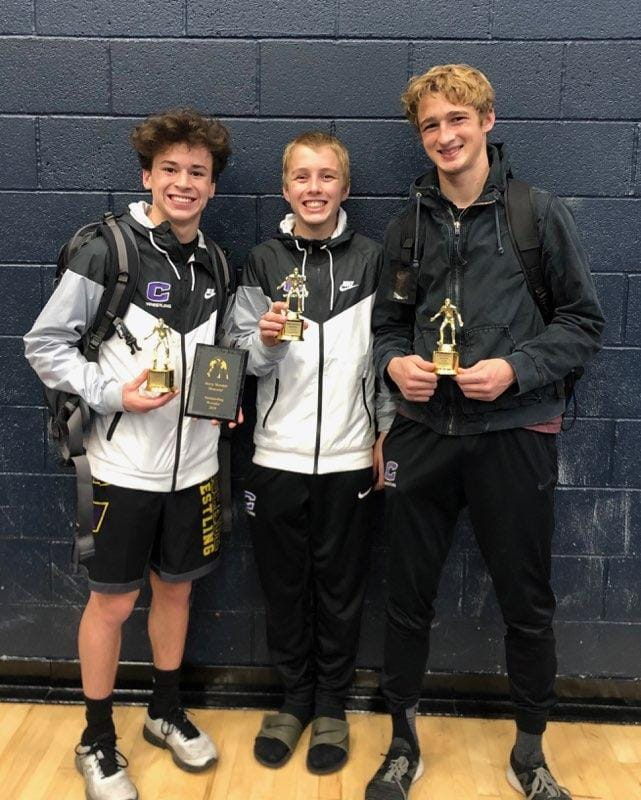 Wrestling: Challengers Trio Does It Again
