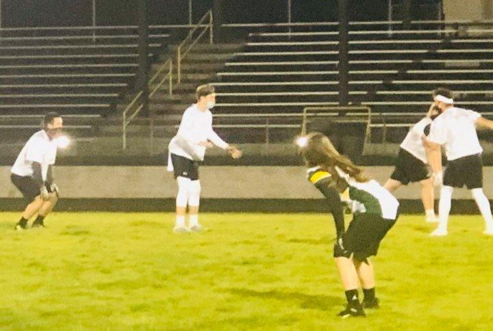 7v7 Football vs Rogue River
