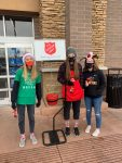 Girls Basketball Team Lends Hand To Salvation Army