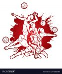 Volleyball: Challengers Sweep & Win League Tournament