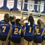 McMichael Volleyball Defeats SEG 3-2