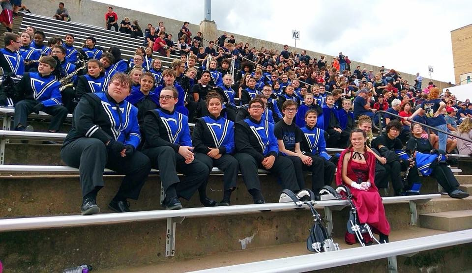 Mustang Band Headed to Area!!!