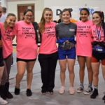 Girls Varsity Powerlifting finishes 12th place at Girls Regionals