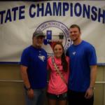 Girls Varsity Powerlifting finishes  at Girls State Powerlifting Meet