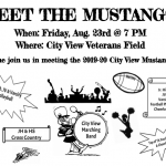 Meet the Mustangs Tonight!!