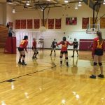 Northgate Senior High School Girls Varsity Volleyball falls to Brentwood High School 3-0