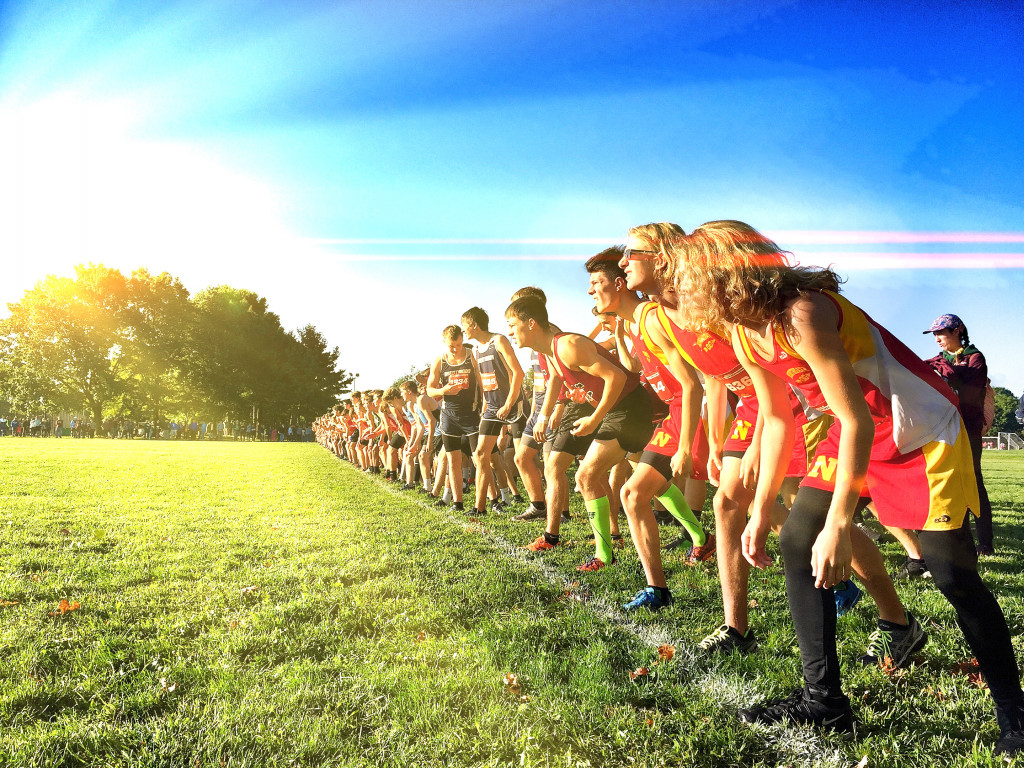 Cross Country Participates in Red, White and Blue Classic