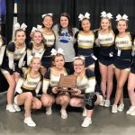 Bulldogs Cheer Team Brings Home 5A Third Place Trophy