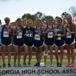 Gordon Lee High School Girls Varsity Cross Country finishes 2nd place