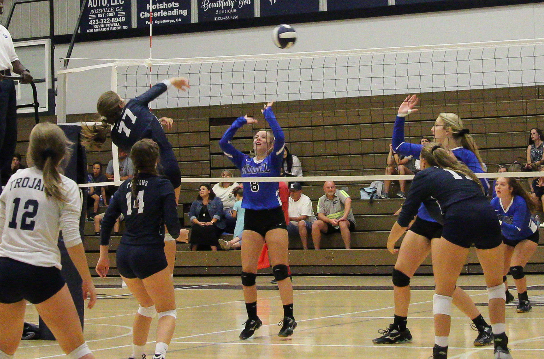 VOLLEYBALL: Gordon Lee claims second area victory