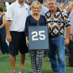 Nootie Abbott's No. 25 is officially retired