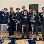 WRESTLING: Gordon Lee third at CCS Invitational