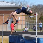 BOYS TRACK: Wiley Heming wins high jump with a PR of 6'6″