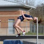 GIRLS TRACK: Kaylee Brown wins with a 5'4″ high jump at Heritage