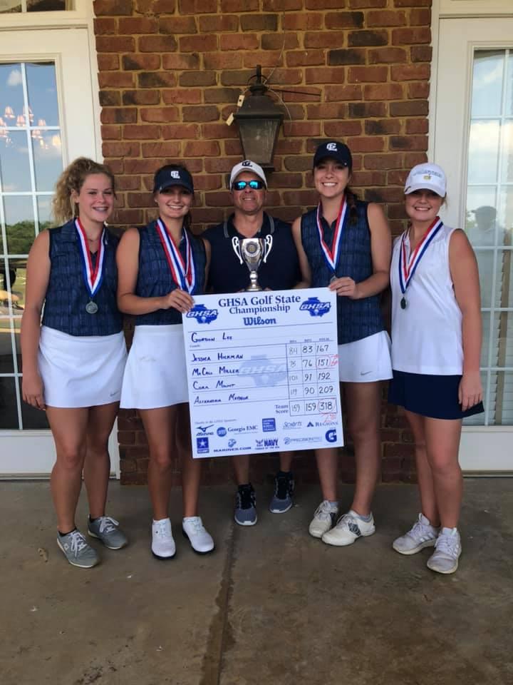GOLF: Girls win State Runner Up; Miller wins Individual Runner Up