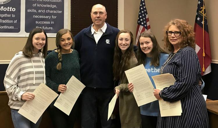 CHEERLEADING: State champs honored at School Board meeting