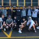 WEIGHT COMPETITION: Groce and Lowe place first