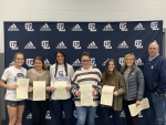 State Champion Softball Team recognized at December Board Meeting