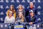 CHEERLEADING: Abbey Dunfee signs scholarship with Limestone