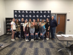 State Champions Competition Cheerleaders honored at Board of Education meeting