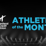And the A+ Athlete of the Month is….
