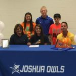 Julia Tucker Signs Letter of Intent