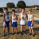 Boys Cross Country Results from Granbury Meet